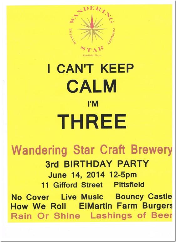 Wandering Star 3rd Birthday 001